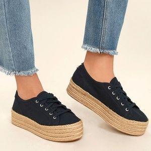 STEVE MADDEN Hampton Flatform Espadrille Sneaker